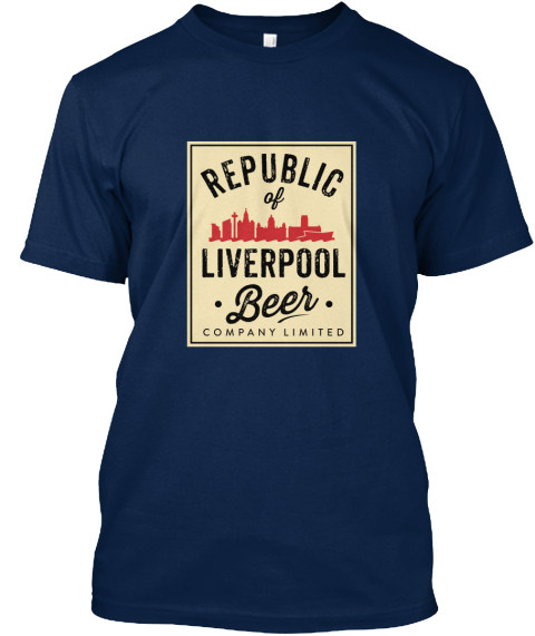 cc5fe34ced8d The Republic Of Liverpool Beer Company Navy T-Shirt - The Republic ...